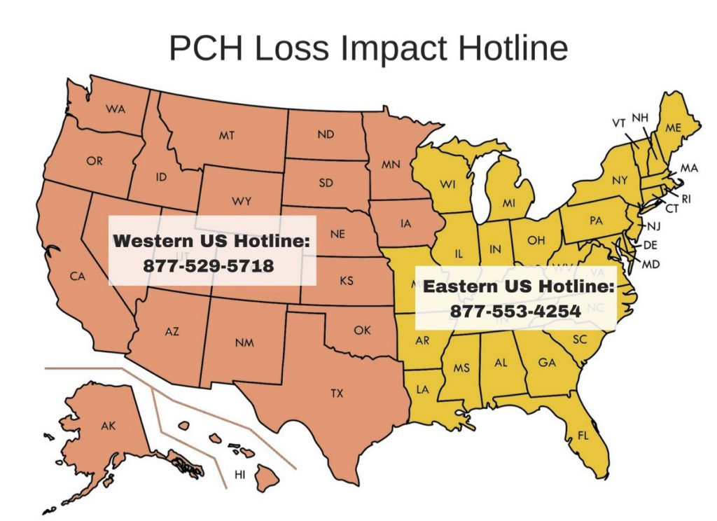 PCH Loss Impact Hotline - PCALIC - Personal Care and